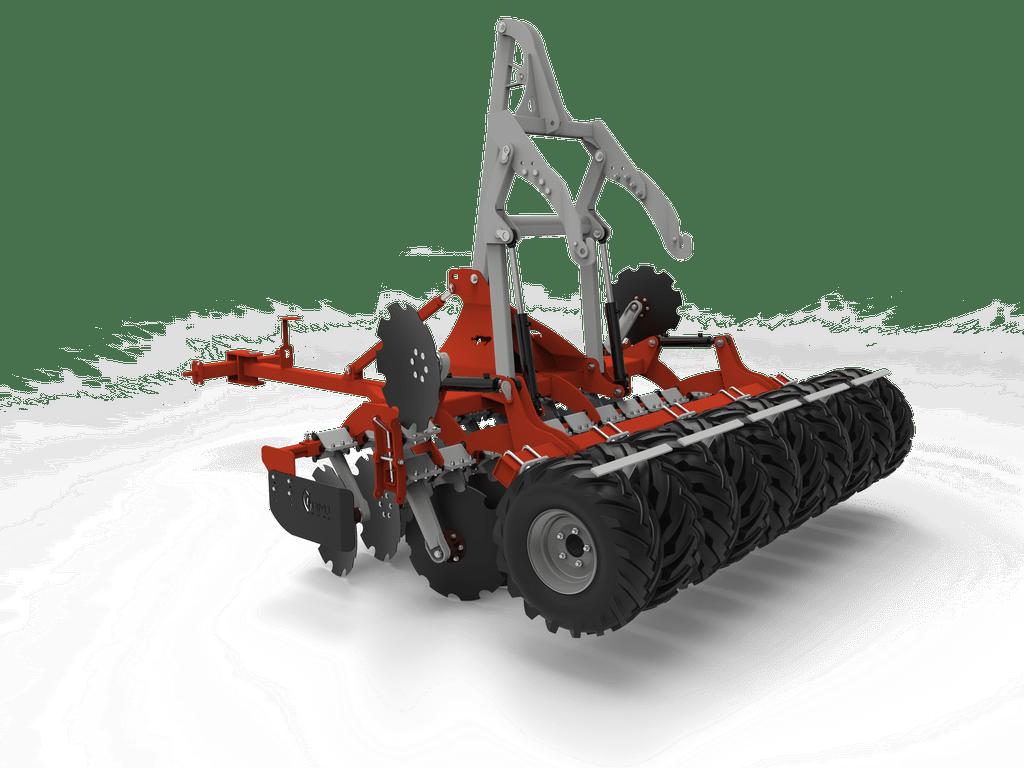 Maszyna rolnicza z wałem oponowym