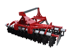 Combined cultivator and seed drill