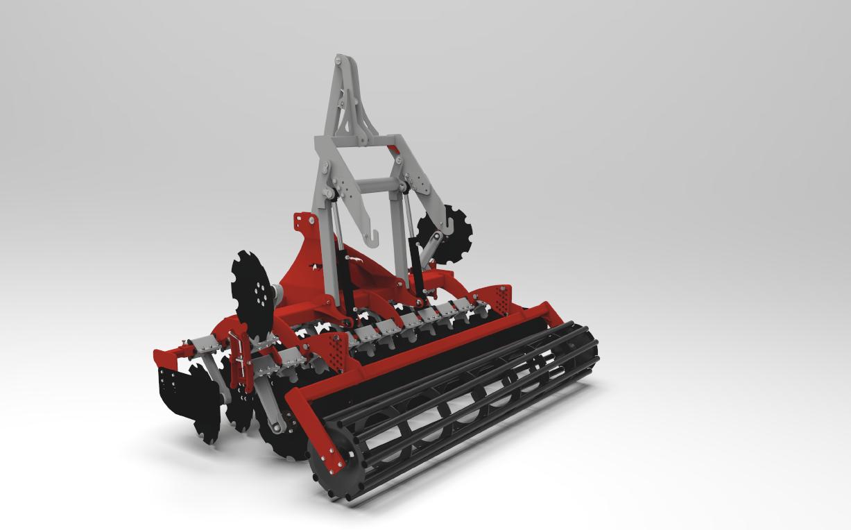 Maszyna rolnicza talerzowa ATOS