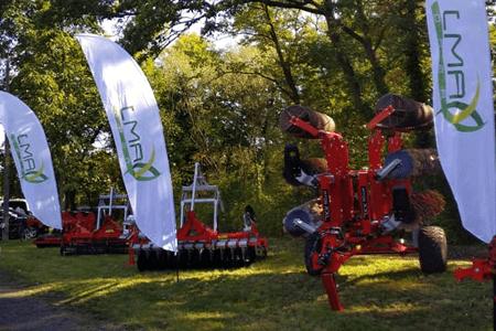 Maszyny na targach rolniczych