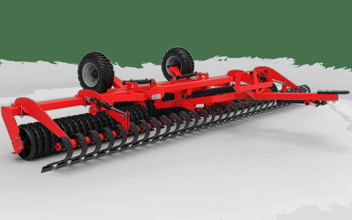 Maszyny rolnicze wał uprawowo-siewny HUGE 6.2 WŁÓKA